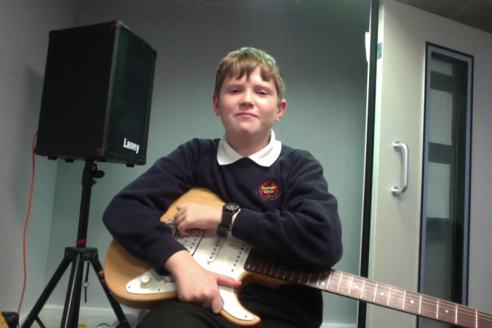 We both think Matthew has made amazing progress, he continues to grow in confidence with his guitar playing and his self esteem has been boosted. 