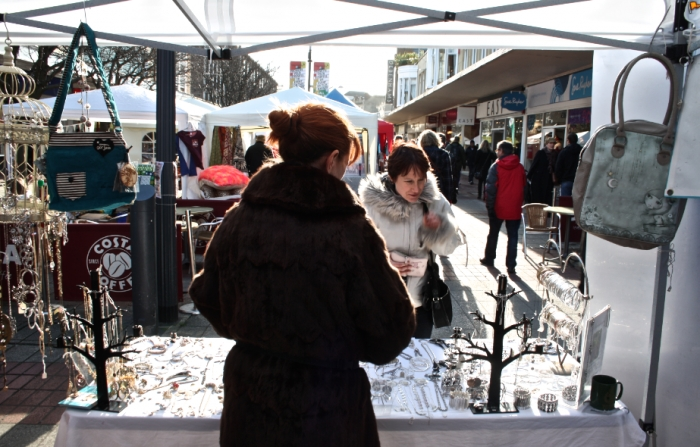 A photo from one of Love Southsea's wintertime markets.