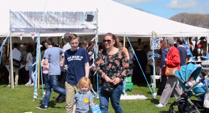 Love Southsea's thriving summertime market at the Rural & Seaside Show.